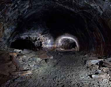 Explore Lava Tube Caves