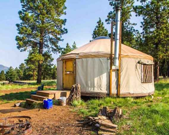 Go Glamping at Arizona Nordic Village